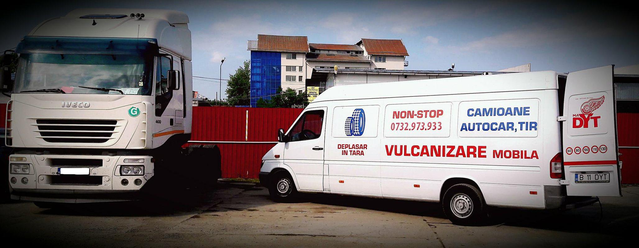 Service mobil roti pentru toate tipurile de Camioane