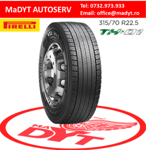 ANVELOPE 295 60R22.5 PIRELLI 150 147 LENERGY TH 01