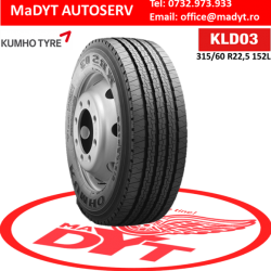 ANVELOPE 315 60R22,5 KUMHO KRS 03 DIRECTIE REGIONAL 152L