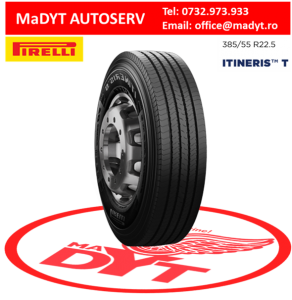 ANVELOPE 385 55R22,5 PIRELLI 160 ITINERIS M S IT T90
